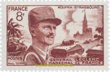 EBS France 1953 Marshal Philippe Leclerc de Hauteclocque YT 942 MNH**