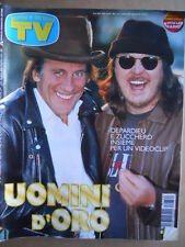 TV Sorrisi e Canzoni n°34 1997 Zucchero Gerard Depardieu Mogol Boldi  [D3]