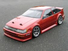 Custom Painted Body TOYOTA LEVIN AE86 for 1/10 RC Drift Cars Touring HPI 190mm