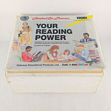 Hooked On Phonics Your Reading Power Learn To Read Curriculum Home School 1992