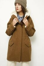 Sundance hooded wool coat by Sessun, size S, NWT