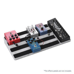 Guitar Effects Pedal Board Guitar Pedalboard Case Power Can Be Hidden AU Stock