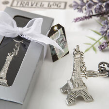 50 Eiffel Tower Key Chain Favor Wedding Favors Bridal Shower Favor Paris Theme