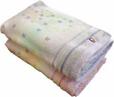 Imabari Towel High quality Candy Flower pattern Bath Towel 2 sheets set Japan