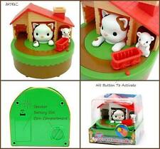 Coin money box Cartoon cat catch mouse piggy saving