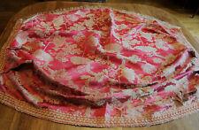 Ciel de lit à la Polonaise en soie ,XVIIIe, pour information ou restauration