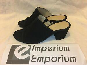 Levi's Mule Sandal OT Black Suede Women's Size UK 4.5 #374620017