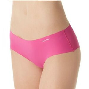 Calvin Klein Women's Invisibles Hipster Panty D3429 Pink Size L