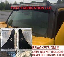 "Hummer H3 52 Inch 52"" LED Light Bar Mount Brackets-Straight/Curved-NO HARDWARE"