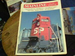 Mainline Modeler June 1985, Dominion Box Car, SP 4-8-8-2 F/O, NKP Tower