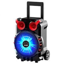 Altavoz portatil con asa inalambrico bluetooth karaoke Trolley Innova ALT21