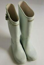 Used Hunter Original Women's Wellington boots, pale green, W23606, UK 3/ EU35/36