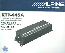 Alpine KTP-445A Power Pack Compact 4 channel Amplifier for Alpine indash unitNEW