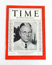 TIME Magazine American Dental Association's Miner (Jul 27, 1936) Medicine 1930s