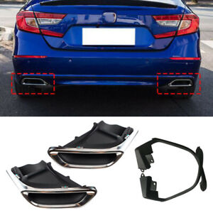 Fit For Honda Accord Exhaust Muffler Tail Pipe Tip Tailpipe Modified upgrade