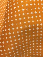 Upholstery Fabric MOMENTUM Decode Blaze - By The Yard Orange White Diamond