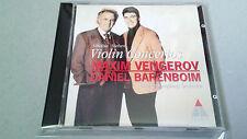 "VENGEROV BARENBOIM ""SIBELIUS NIELSEN VIOLIN CONCERTOS"" CD 7 TRACKS 0630-13161-2"