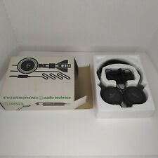 Vintage Audio Technica ATH-3 Stereophones Tested