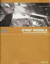 New listing 2005 Harley-Davidson Dyna Service Manual -Fxd-Fxdl-Fxdc-Fxdx-Fxdwg
