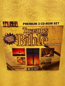Treasures Of The Bible - 2001 Express Edition - 3 CD rom discs