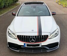 Mercedes Benz C63 Amg W205 Saloon Brabus Style Real Carbon Fibre Splitter Lip