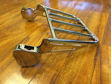 USED Detachable Luggage Rack for (1994-2008) Harley Davidson Touring Sissy Bars