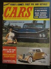 Cars Magazine March 1960 Ford Comet Ram Tuning Customizer's Car Vol 1 No 3 (K)