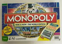 Monopoly Here And Now 2008 The World Edition With Electronic Banking Complete