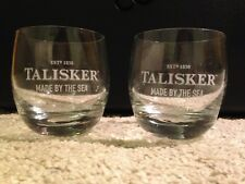 Whisky PAN BICCHIERI TUMBLER Talisker-made by the Sea, 1 ST NUOVO Nosing vetro