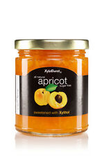 Xyloburst Apricot Jam Sugar Free - 10 OZ Jar - Sweetened with Xylitol!