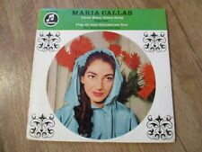 Vinyl7 Maria Callas Teurer Name,dessen Klang German Press sehr gut