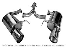 Lexus IS350 2006 2007 2008 2009 2010 2011 2012 Tsudo Ver-2 Axleback sp2 Exhaust