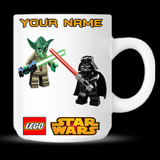 Lego Star Wars Personalised Coffee Mug Cup Birthday Christmas Novelty Gift - DE8