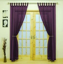 Voile Tab Top Panels