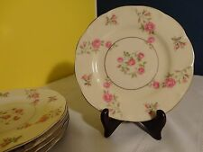 "Beautiful Theodore Haviland China ""Delaware"" - Scalloped Bread/Butter Plates - 5"