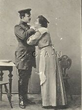 Pre WWI Org 1898-1905 German PC- Soldier- Frau- Romance- Zapfenstreich- PM 1904