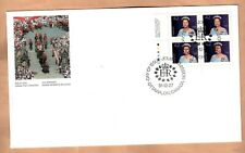 FDC Canada 1991 Queen Elizabeth II