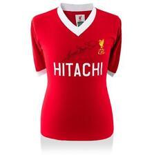 Graeme Souness Front Signed 1978 Liverpool Shirt: Hitachi Edition Autograph