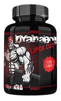 Dyanabol LIPOX CUT 100 Kapseln Hochdosiert Burner Diät Gewichtsverlust