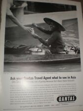 Ask your Qantas Travel Agent what to see in Asia advert 1964 ref AY