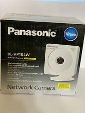 Panasonic BL-VP104W Network wireless  Camera -New (open Box)