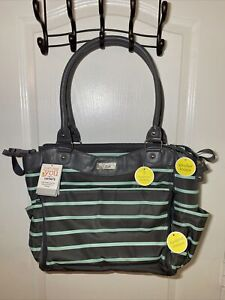 CARTER'S JUST ONE YOU DIAPER BAG NWT LARGE 7 Pocket Organizers Roll Out Changer