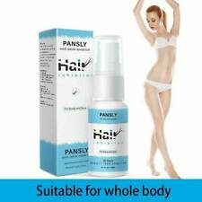 Pansly Permanant Hair Growth Removal Inhibitor Serum Oil Spray Beard Bikini New