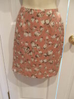 New in pkg  pink tulip print skirt frederick's of hollywood made in usa size 11