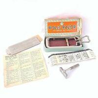 Antique Rolls Razor Imperial No 2 England Made Original Box Instructions Vintage