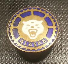 Alaska Bottone Smaltato 18mm PNEUMATICI ACCESSORI AUTO ALT + ORIGINALE