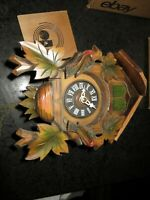 Vintage Black Forest Cuckoo Clock Hubert Herr Triberg, For parts-repair