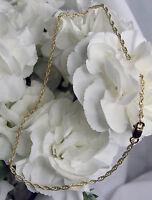 Gold Rope Bracelet or Ankle Bracelet (2912)