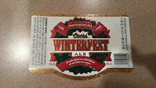 Super Cool 1996 Coors 10th Anniversary Winterfest Christmas Beer Label - Mint!