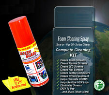 SCREEN GUARD (2 CANS) Original Spray Foam Cleaner LCD, LED TV's